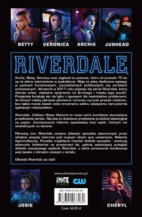 PAKIET - Star Trek T1 i Riverdale T1