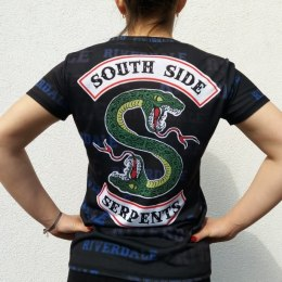 T-SHIRT SERPENTS FULLPRINT